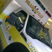 Photo taken at Branchville Volunteer Fire Company & Rescue Squad by Dominique S. on 4/1/2013
