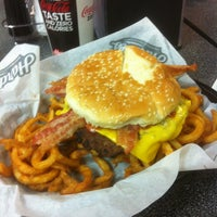 Photo taken at Hardee's / Red Burrito by Michael C. on 1/27/2013