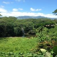 Photo taken at Kauai Hindu Monastery by Ajay M. on 8/11/2014
