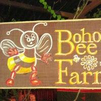 Photo taken at Bohol Bee Farm by Marlon G. on 1/11/2013