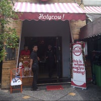 Photo taken at Holycow! Steakhouse by bustanul a. on 12/26/2012