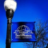 Photo taken at Georgia Southwestern State University by Benjamin M. on 2/9/2013