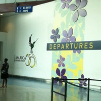 Photo taken at Norman Manley International Airport (KIN) by Ana C. O. on 5/6/2013