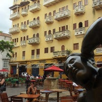 Photo taken at Plaza Santo Domingo by Jesús M. on 6/26/2013
