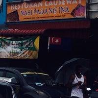 Photo taken at Restoran Causeway Nasi Padang Ina by Ekadiaries on 3/17/2014