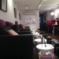 Photo taken at Blush Nail Lounge by Emily on 12/19/2013
