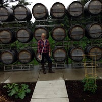 Photo taken at Stone's Throw Winery by Lindsay L. on 6/21/2014