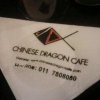 Photo taken at Chinese Dragon Cafe by Tissaka S. on 2/3/2013