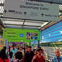 Photo taken at Singapore EXPO by hydee c. on 9/7/2013