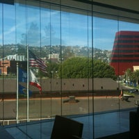 Photo taken at County of Los Angeles Public Library - West Hollywood by Curtis B. on 10/3/2012