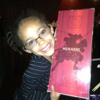 Photo taken at Musashi Restaurant by Brandi Lynn N. on 4/5/2013