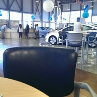 Photo taken at Rick Case Hyundai by MONTGOMMERY M. on 8/17/2013