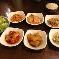 Photo taken at Hosoonyi Korean Restaurant by Jinyu Z. on 4/22/2013
