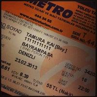 Photo taken at Metro Turizm by Kai T. on 2/23/2013