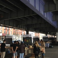 Photo taken at New Amsterdam Market by Lockhart S. on 10/28/2012