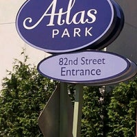Photo taken at The Shops at Atlas Park by Raul A. on 6/8/2012