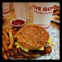 Photo taken at Five Guys by Timothy H. on 11/18/2012