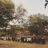 Photo taken at Rektorat Universitas Udayana by Grace K. on 7/16/2015
