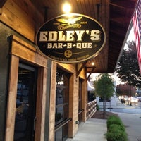 Photo taken at Edley's Bar-B-Que by Erika H. on 11/2/2012