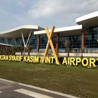 Photo taken at Sultan Syarif Kasim II International Airport (PKU) by Michael L. on 11/8/2012