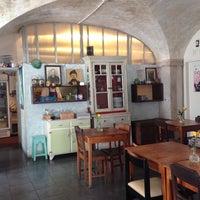Photo taken at Café Tati by Zornitsa M. on 3/20/2014