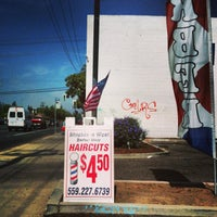 Photo taken at Shields & West Barber Shop by Sy O. on 6/11/2013