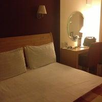 Photo taken at Copthorne Tara Hotel by Aui C. on 4/29/2013