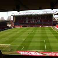 Photo taken at The City Ground by Ben M. on 4/20/2013