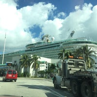 Photo taken at Port Everglades Terminal 25 by Carlos L. on 1/22/2015