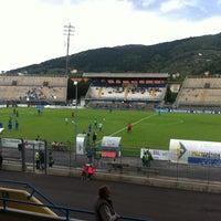 Photo taken at Stadio Lungo Bisenzio by Matteo M. on 10/6/2013
