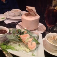 Photo taken at Thai Bamboo Bistro by Liezl Y. on 2/2/2014