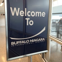 Photo taken at Buffalo Niagara International Airport (BUF) by Wann L. on 5/22/2013