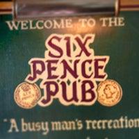 Photo taken at Six Pence Pub by Jason H. on 6/11/2013