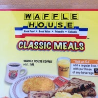 Photo taken at Waffle House by CanceledAccount P. on 2/22/2014