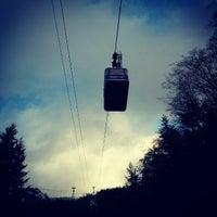 Photo taken at Grouse Gondola by Ruxandra F. on 2/23/2013