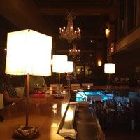 Photo taken at Café & Bar Lurcat by Nate F. on 8/31/2013