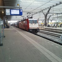 Photo taken at Rotterdam Central Station by Jelle L. on 4/1/2013