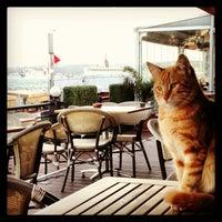Photo taken at Göze Teras Cafe by Barış A. on 3/3/2013
