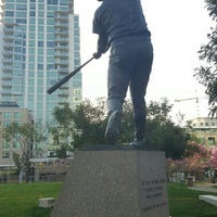 Photo taken at Tony Gwynn Statue by Eduardo H. on 3/27/2016