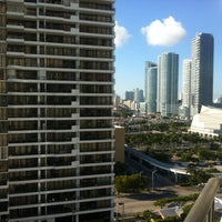 Photo taken at Miami Marriott Biscayne Bay by Joseph B. on 11/2/2012