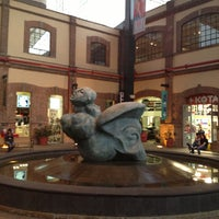 Photo taken at Plaza Loreto by Sandra M. on 2/7/2013