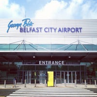 Photo taken at George Best Belfast City Airport (BHD) by Tracy L. on 7/12/2013