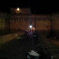 Photo taken at Rocca Roveresca by Simone D. on 8/12/2013