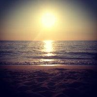 Photo taken at Praia das Bicas by Jaqueline S. on 6/30/2013