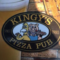 Photo taken at Kingy's Pizza by David B. on 8/18/2015