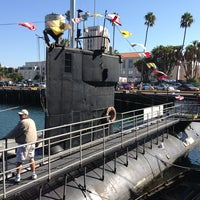 Photo taken at USS Dolphin by Malia P. on 10/14/2013