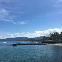 Photo taken at Pantai Candidasa by Johan S. on 4/14/2016