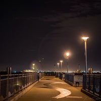 Photo taken at Louis Valentino, Jr. Park & Pier by Francisco S. on 7/3/2013