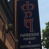 Photo taken at Habesha Market and Carry-out by Elder Roc R. on 7/8/2014