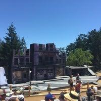 Photo taken at Mt. Tamalpais Amphitheater by Benjy W. on 6/5/2016